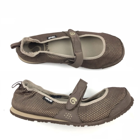 ff147a44f1ec08 Teva Mush Frio Mary Jane Slip On Flats. M 5be046cb035cf1c9aec12465